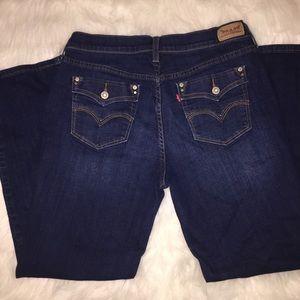 EUC Levi's 505 straight leg jeans